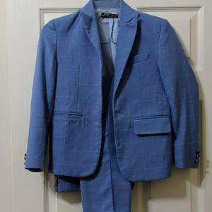 Boys light blue suit